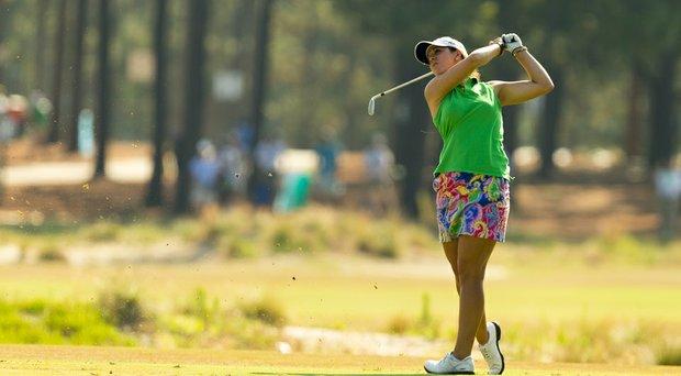 Emma Talley during the 2014 U.S. Women's Open at Pinehurst.