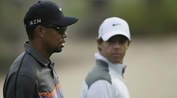 Tiger Woods and Rory McIlroy are listed as early co-favorites for the 2014 British Open.