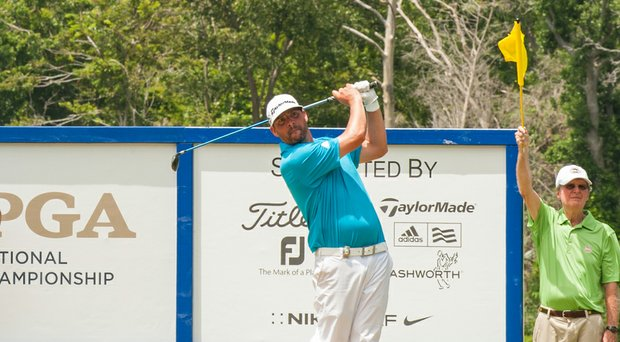 Michael Block erased a four-stroke deficit, caught the leader at the last hole, then made a 3-foot birdie putt at the second playoff hole Wednesday to win the 47th PGA Professional National Championship.