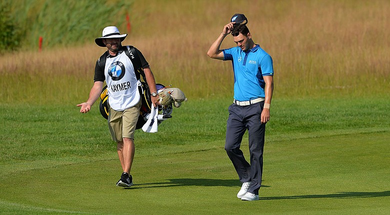 Martin Kaymer during the first round of the European Tour's BMW International Open.