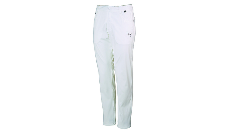 Puma Golf's Tech 6 Pocket Pants are available in five different colors.