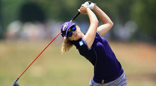 Paula Creamer during the 2014 U.S. Women's Open.