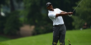 PHOTOS: Tiger Woods, Quicken Loans National, Rd. 2