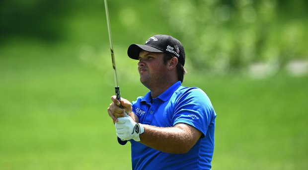 Patrick Reed during the third round of the Quicken Loans National at Congressional.