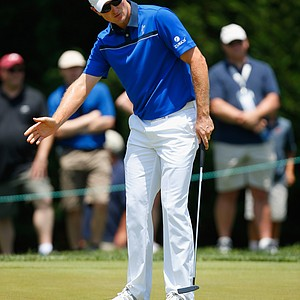 Justin Rose during Saturday's third round of the 2014 Quicken Loans National at Congressional.