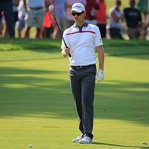 Justin Rose during Sunday's final round of the 2014 Quicken Loans National at Congressional.