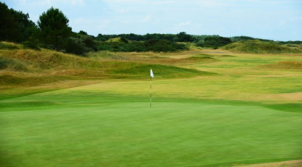 Royal Birkdale was awarded the 2017 Open Championship on Tuesday. Pictured here is the 18th hole.