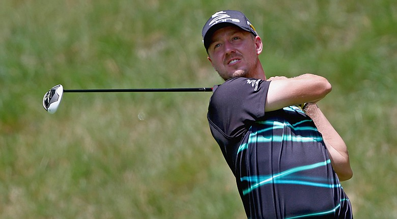 Jonas Blixt began his title defense at the Greenbrier Classic with an opening-round 6-under 64 Thursday at The Old White TPC in White Sulphur Springs, W. Va.