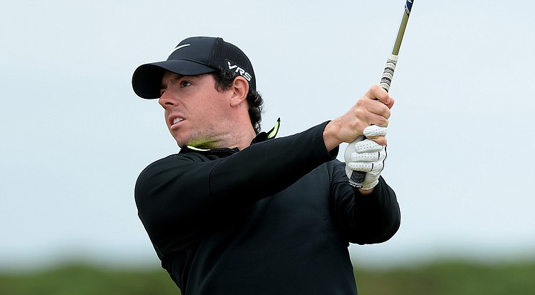 Rory McIlroy during the first round of the 2014 Scottish Open.