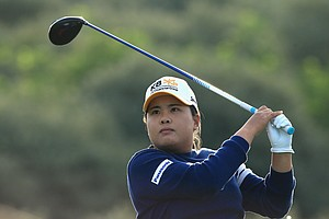 Inbee Park during the second round of the 2014 Ricoh Women's British Open at Royal Birkdale Golf Club in Southport, England.