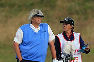 Laura Davies during the second round of the 2014 Ricoh Women's British Open at Royal Birkdale Golf Club in Southport, England.
