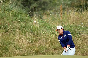 Inbee Park during the third round of the 2014 Ricoh Women's British Open at Royal Birkdale Golf Club in Southport, England.