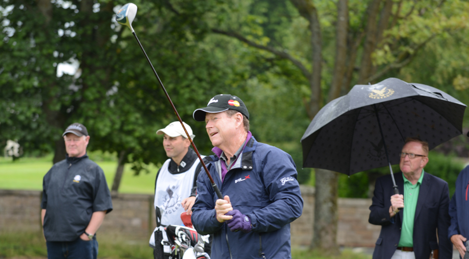 2014 Ryder Cup U.S. captain Tom Watson plays Gleneagles on July 12 to assess the course.