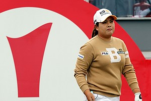 Inbee Park during Sunday's final round of the 2014 Women's British Open at Royal Birkdale.