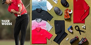 Woods, McIlroy and more Nike apparel at British Open