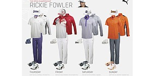 Fowler, others scripted apparel for 2014 Open Championship