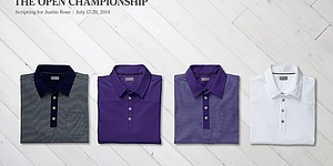 Justin Rose's apparel for 2014 Open Championship