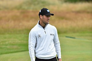 Martin Kaymer during Wednesday's practice round of the 2014 Open Championship at Royal Liverpool.