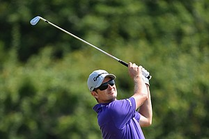 Justin Rose during Friday's second round of the 2014 British Open at Royal Liverpool.