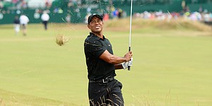 PHOTOS: Tiger Woods, British Open, Rd. 2