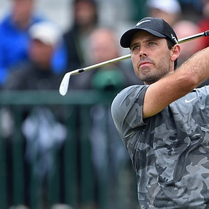 Charl Schwartzel during Saturday's third round of the 2014 British Open at Royal Liverpool.