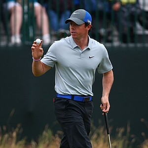 Rory McIlroy during Saturday's third round of the 2014 British Open at Royal Liverpool.