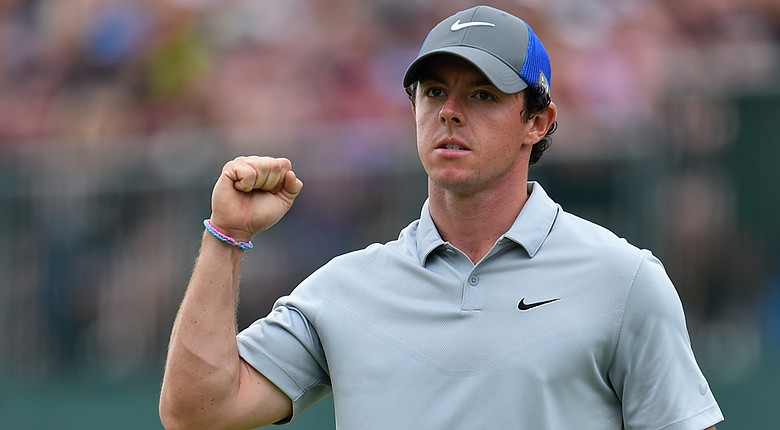 Rory McIlroy will take a six-shot lead in the final round of the 2014 British Open at Royal Liverpool.