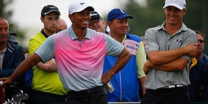 Tiger Woods, Jordan Spieth attend Cowboys game, but NBC notices only Tiger