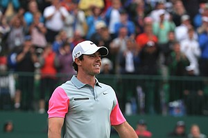 Rory McIlroy during the final round of the 2014 British Open at Royal Liverpool.