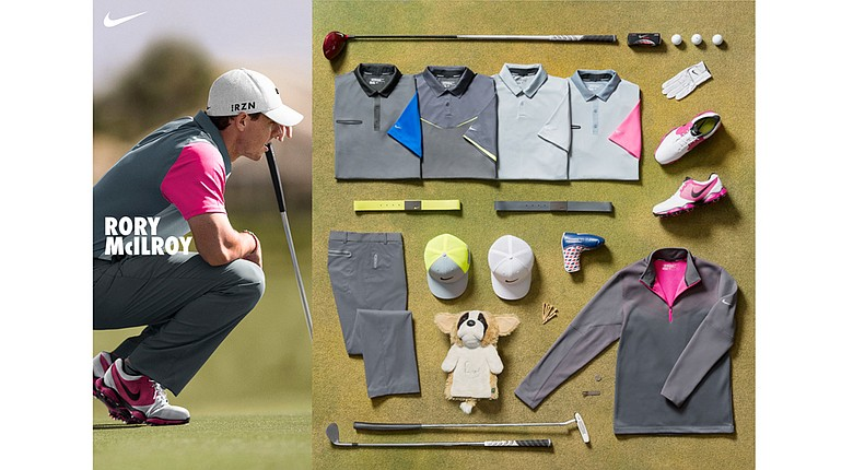 Rory McIlroy's apparel during the 2014 British Open at Royal Liverpool.