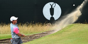 PHOTOS: Rory McIlroy's 2014 British Open