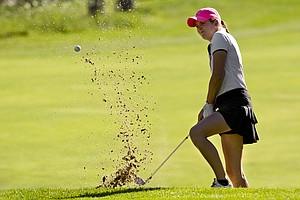 Mackenzie Hawkes during Monday's first round of the 2014 U.S. Girls Junior Championship at Forest Highlands Golf Club in Flagstaff, Ariz.