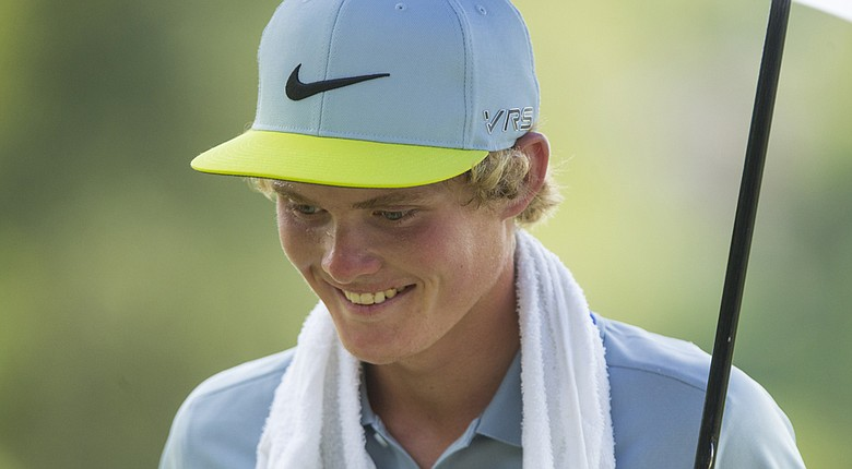 Andreas Halvorsen advanced to the quarterfinals of the 2014 U.S. Junior Amateur.