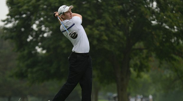 Geoff Drakeford takes the second-round lead at the 56th Porter Cup at Niagara Falls Country Club.