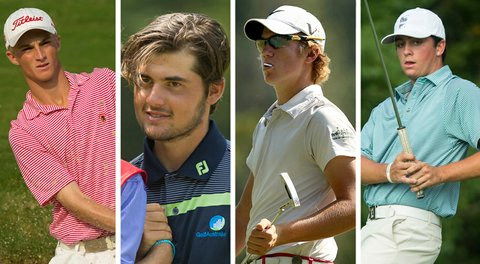 Will Zalatoris, Curtis Luck, Sam Horsfield and Davis Riley all advanced to Friday afternoon's semifinals at the U.S. Junior Amateur, setting up what should be an exciting pair of matches.