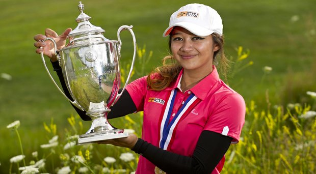 Princess Mary Superal won the 2014 U.S. Girls' Junior in Flagstaff, Ariz.