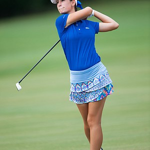 Cheyenne Knight during the first round of the Junior PGA Championship at Miramont Country Club in Bryan, Texas.
