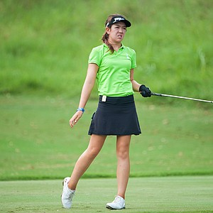 Hannah O'Sullivan during the first round of the Junior PGA Championship at Miramont Country Club in Bryan, Texas.