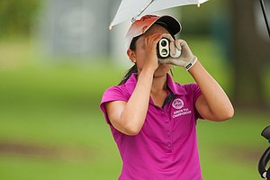 Ellen Takada during the second round of the 2014 Junior PGA Championship at Miramont Country Club in Bryan, Texas.