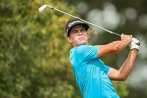 Gordon Neale during the third round of the 2014 Junior PGA Championship at Miramont Country Club in Bryan, Texas.