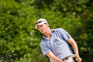 Sam Burns during the second round of the 2014 Junior PGA Championship at Miramont Country Club in Bryan, Texas.