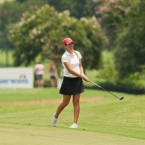 Kristen Gillman during the 2014 Junior PGA Championship at Miramont Country Club in Bryan, Texas.