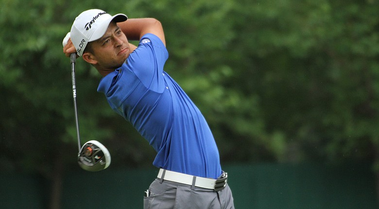 Xander Schauffele will face off against Brian Campbell in one of two semifinal matches at the Western Am Saturday.