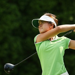 Angella Then at the 2014 U. S. Women's Amateur at Nassau Country Club, Glen Cove, N. Y.