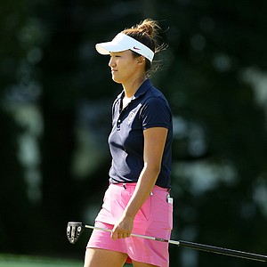 Annie Park at the 2014 U. S. Women's Amateur at Nassau Country Club, Glen Cove, N. Y.
