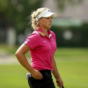Brooke Mackenzie Henderson of Canada during the 2014 U. S. Women's Amateur at Nassau Country Club.
