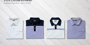 Rose's scripted apparel for 2014 PGA Championship