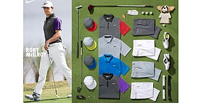 McIlroy, Woods' apparel for PGA Championship