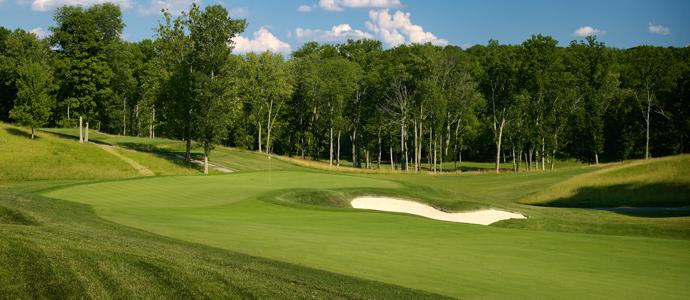 The 10th hole at Valhalla, 2014 PGA Championship host.