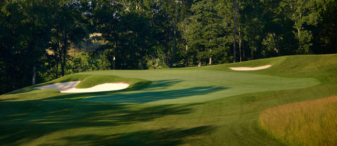 The 11th hole at Valhalla, 2014 PGA Championship host.